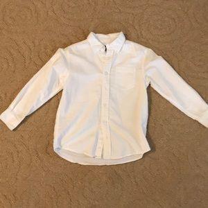 Boys white dress shirt